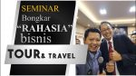 Seminar Bisnis Tour And Travel Revolution