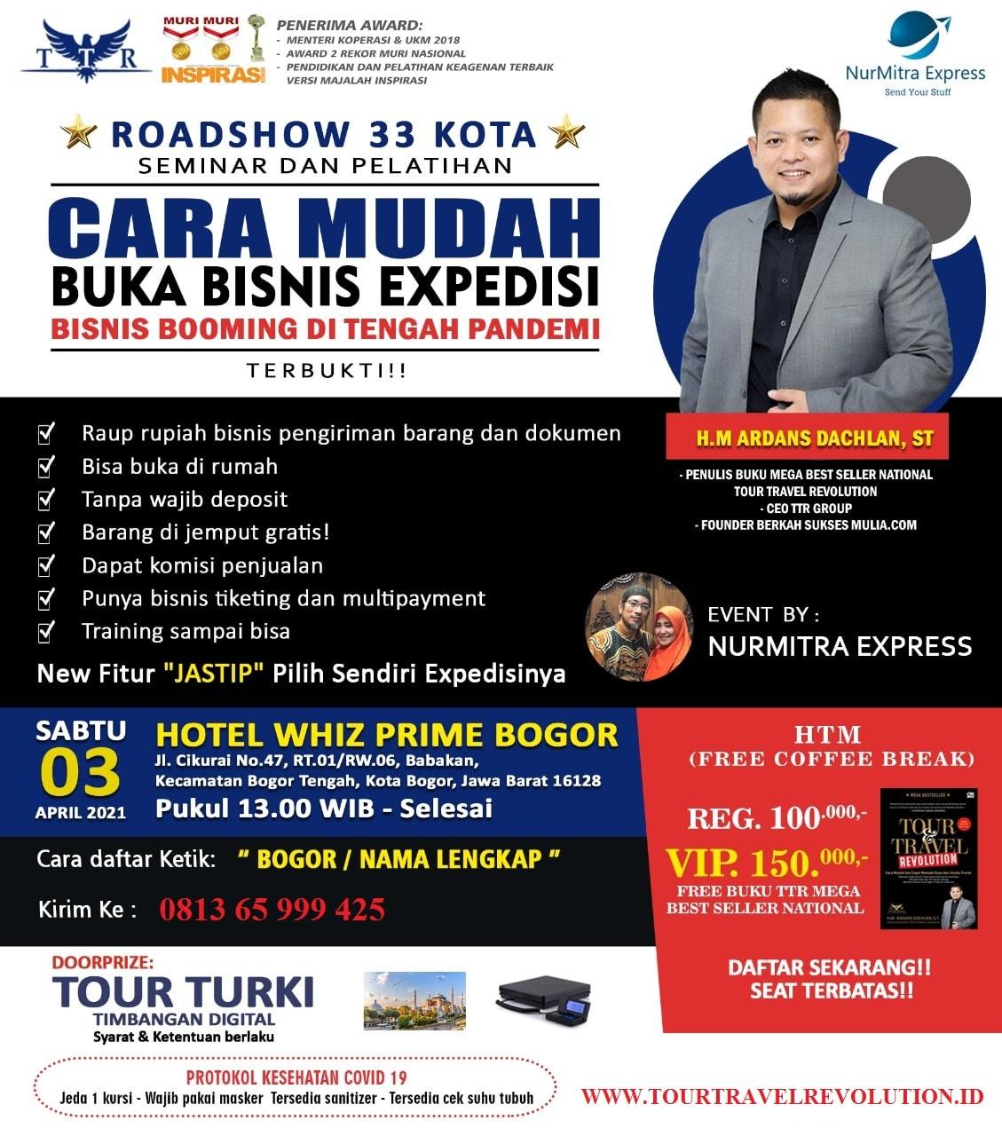 Seminar Multi Kurir Bogor