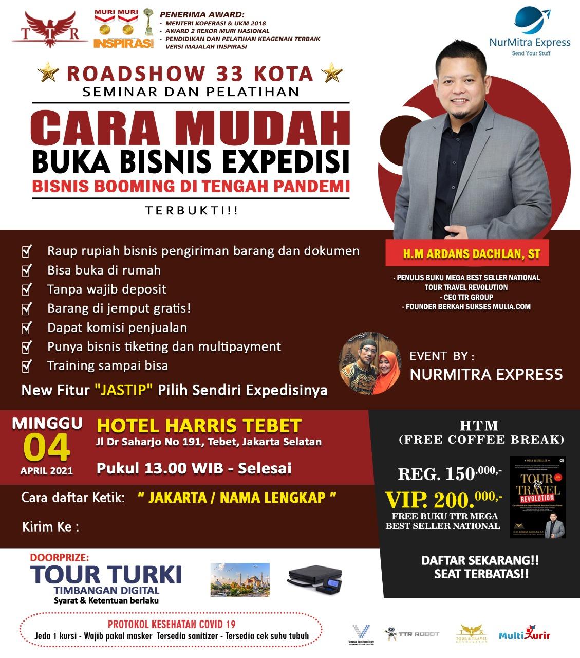 Seminar Multi Kurir Jakarta