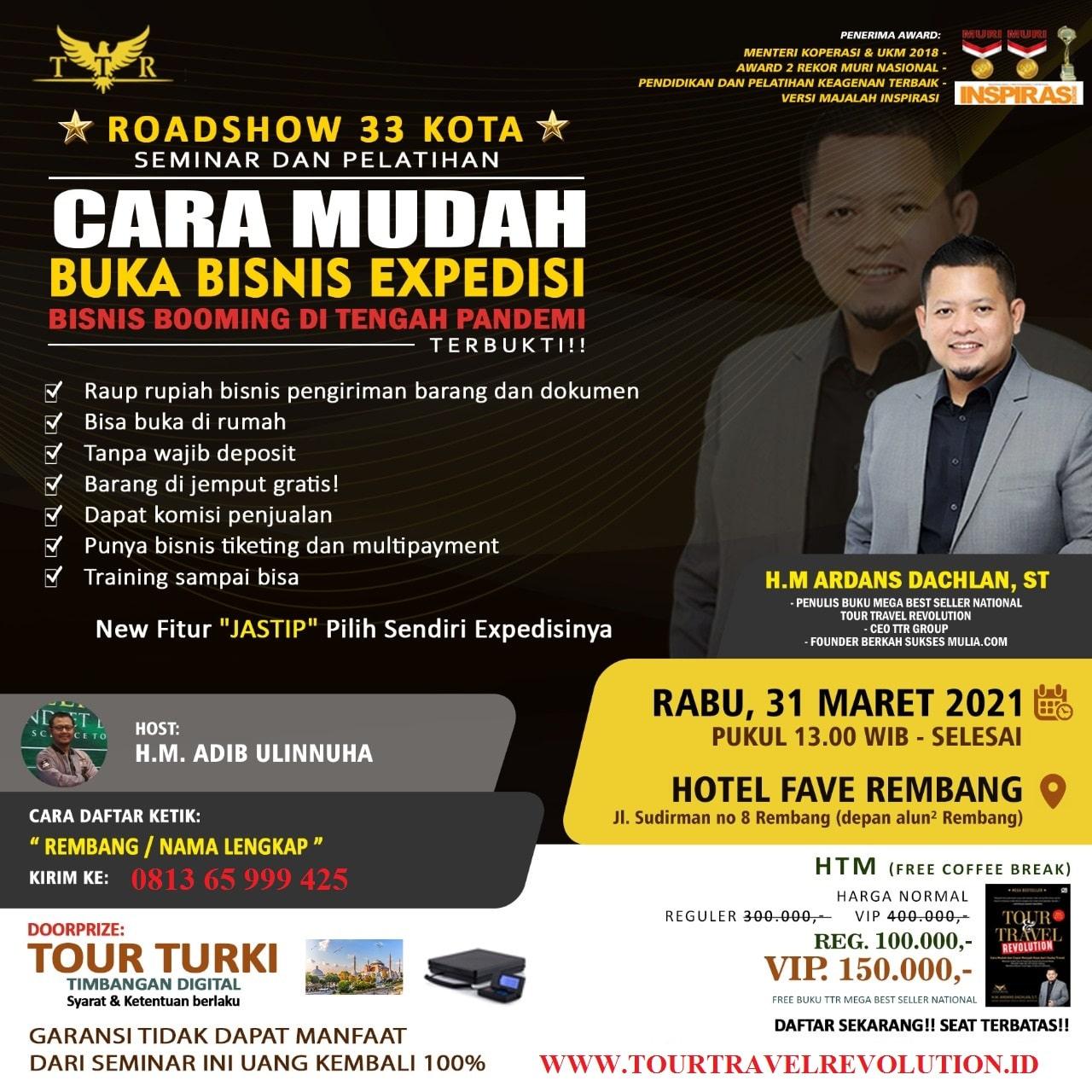 Seminar Multi Kurir Rembang