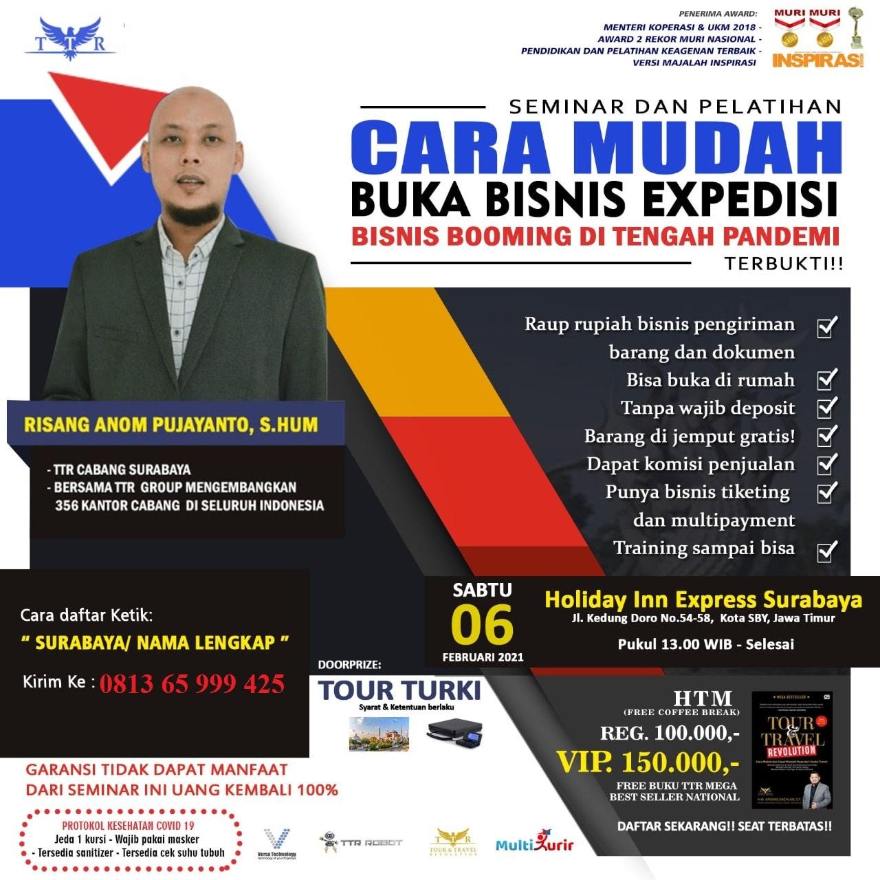 Seminar Multi Kurir Surabaya