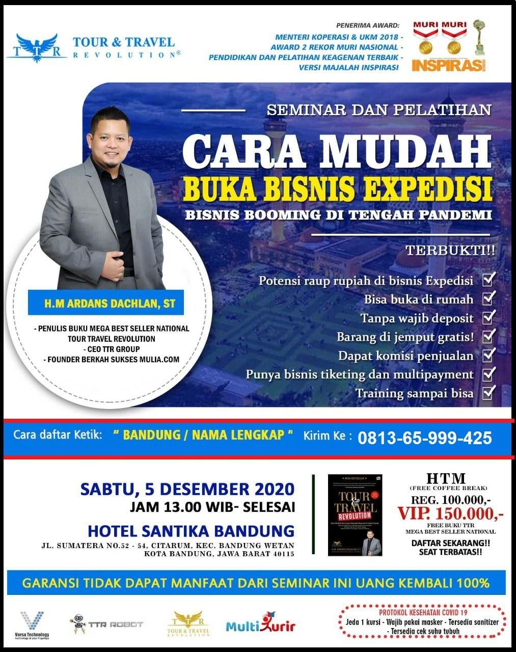 Seminar Multi Kurir Bandung