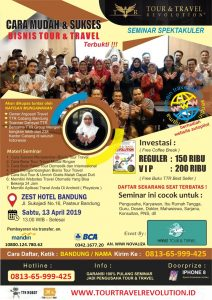 Seminar Tour Travel Revolution Bandung