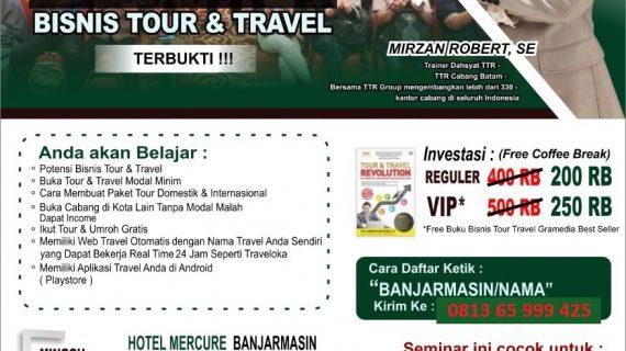 Seminar Tour Travel Revolution Banjarmasin
