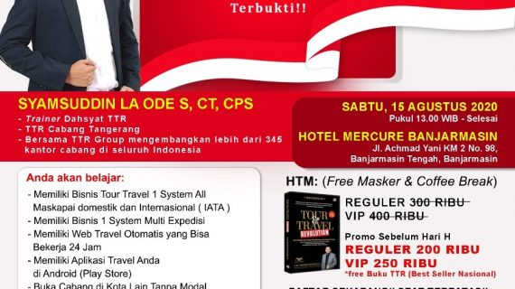 Seminar Tour Travel Revolution Banjarmasin