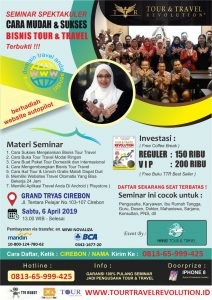 Seminar Tour Travel Revolution Cirebon