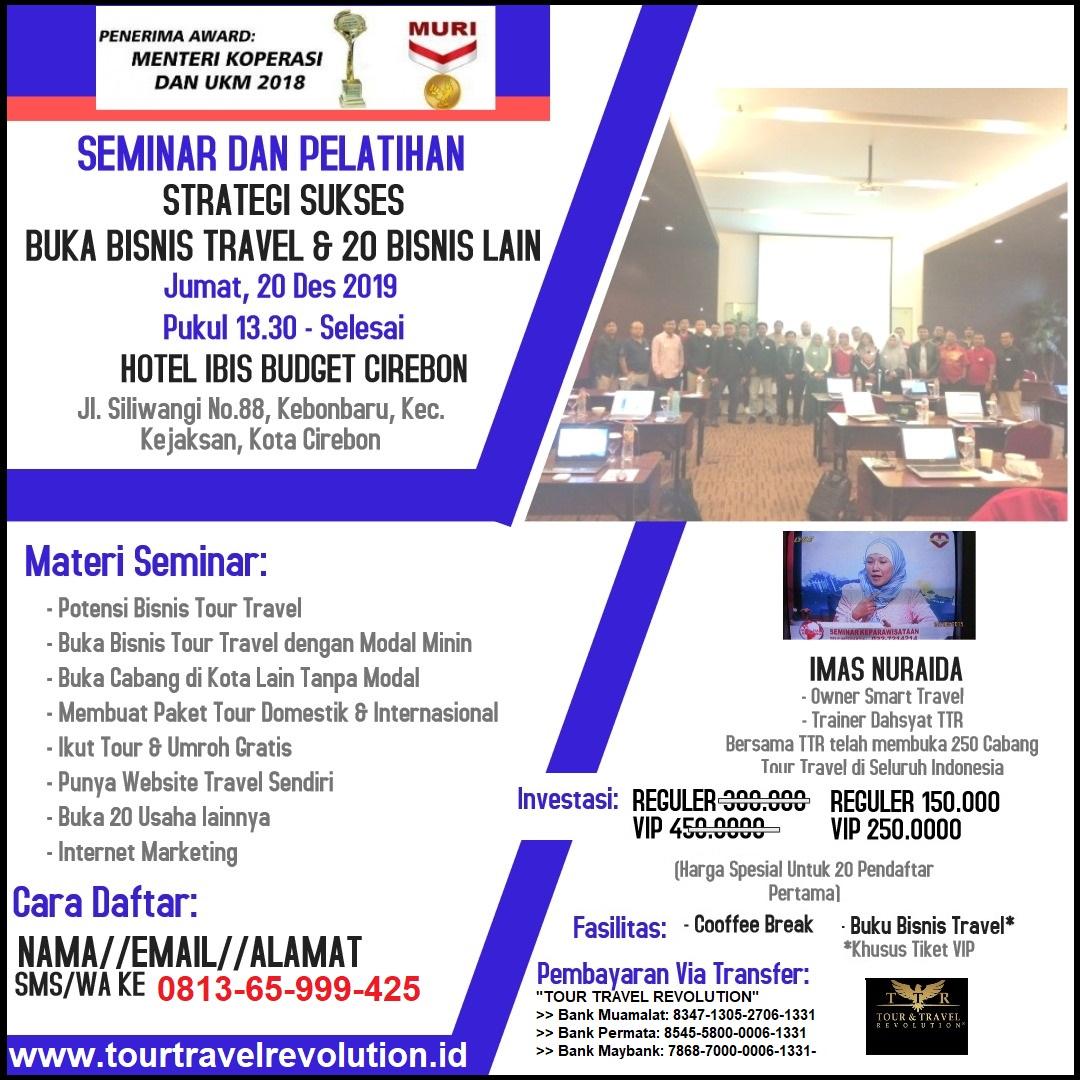 Seminar Tour Travel Revolution Cirebon