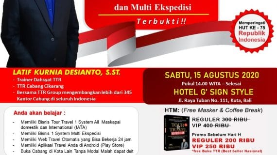 Seminar Tour Travel Revolution Denpasar