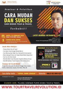 Seminar Tour Travel Revolution Depok