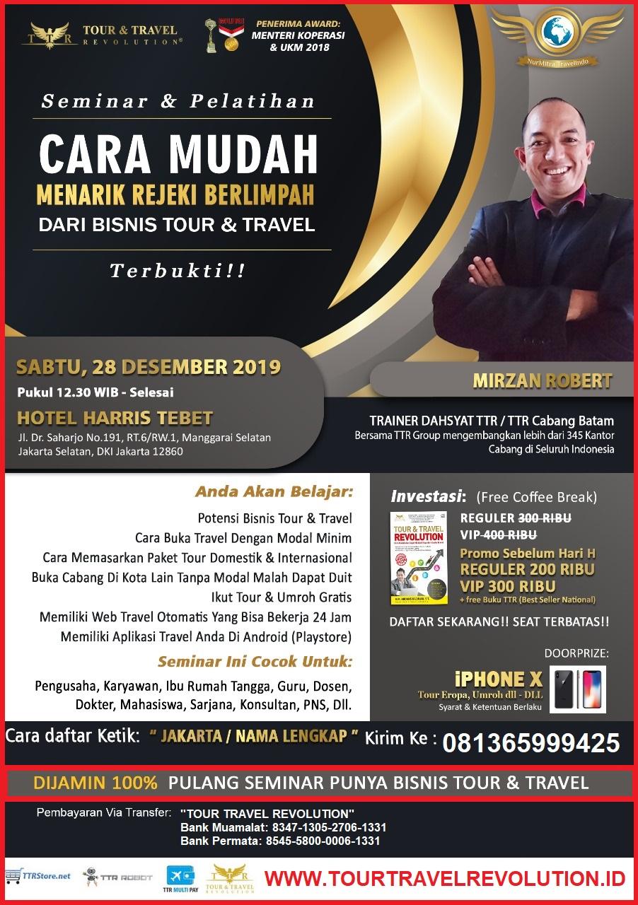 Seminar Tour Travel Revolution Jakarta Selatan