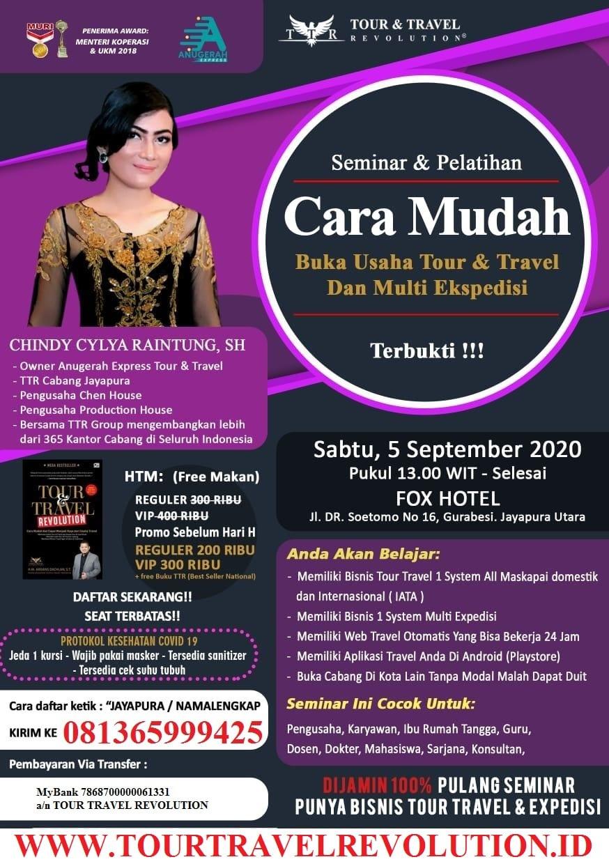 Seminar Tour Travel Revolution Jayapura