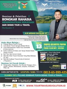 Seminar Tour Travel Revolution Jayapura