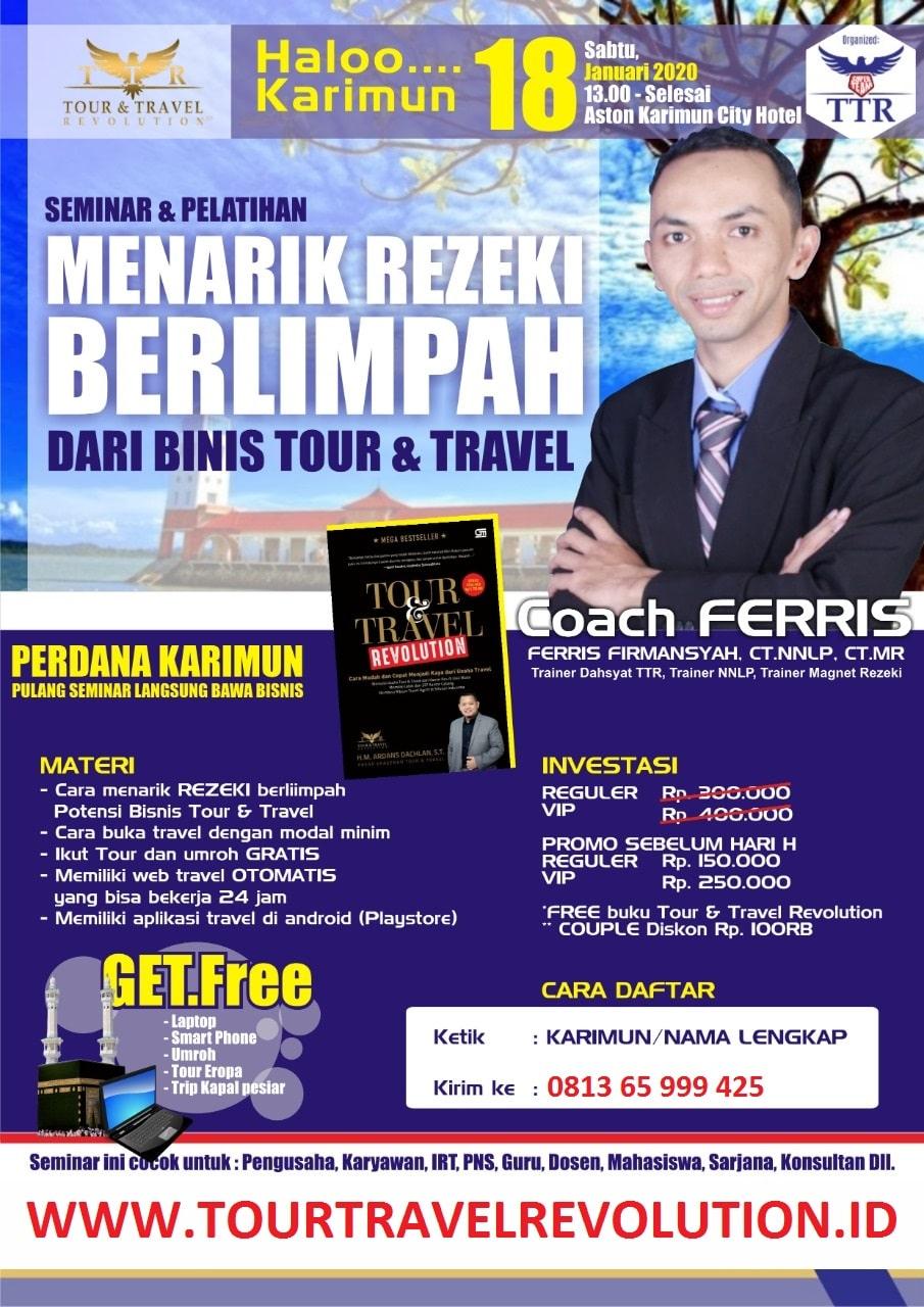 Seminar Tour Travel Revolution Karimun
