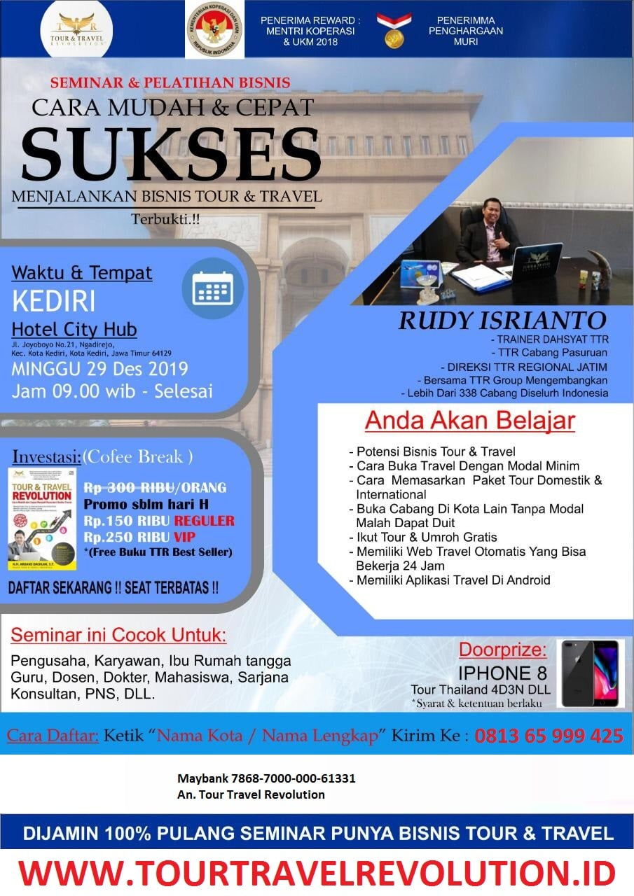 Seminar Tour Travel Revolution Kediri