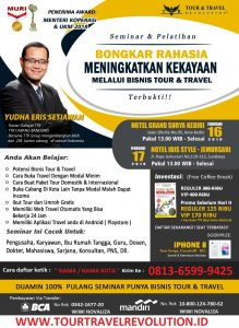 Seminar Tour Travel Revolution Kediri