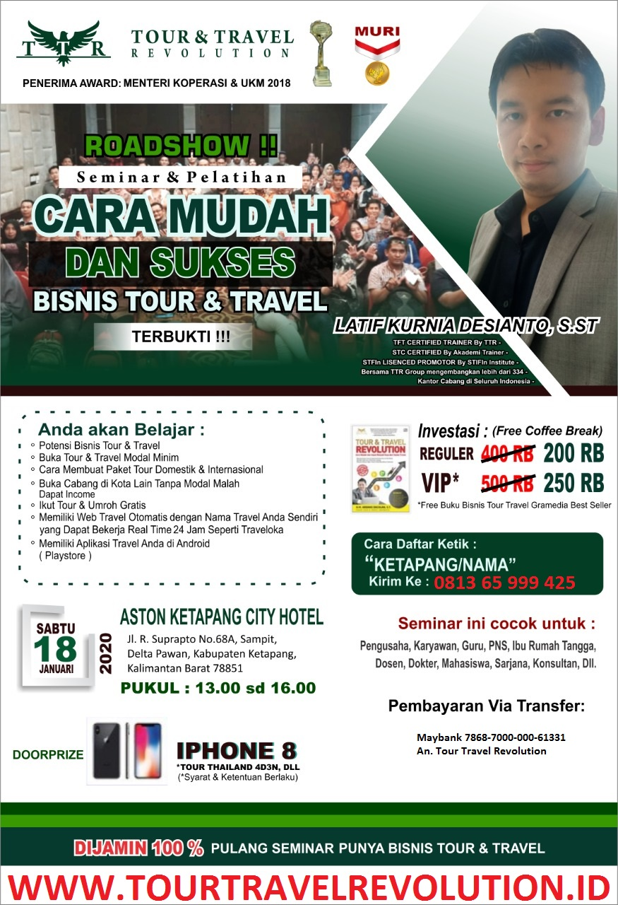 Seminar Tour Travel Revolution Ketapang
