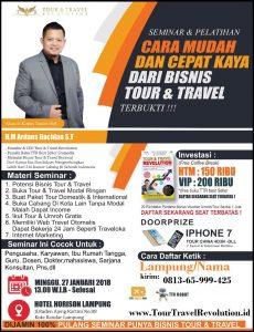 Seminar Tour Travel Revolution Lampung