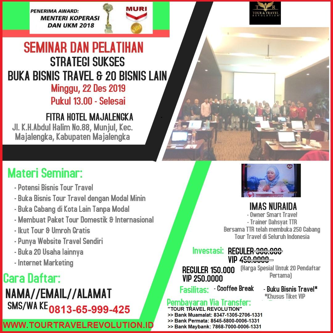Seminar Tour Travel Revolution Majalengka