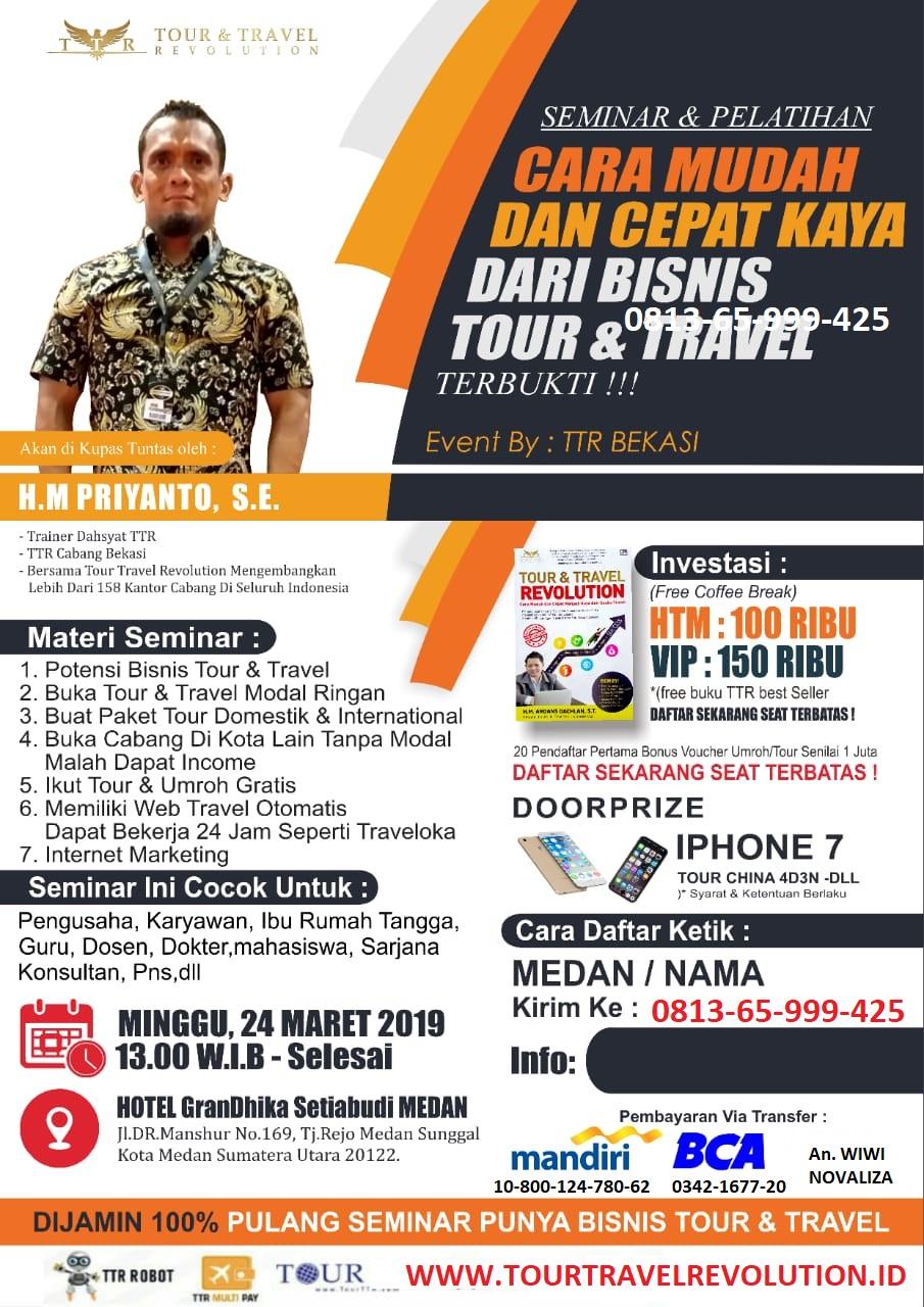 Seminar Tour Travel Revolution Medan