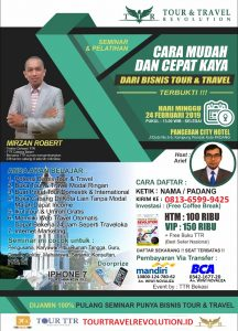 Seminar Tour Travel Revolution Padang
