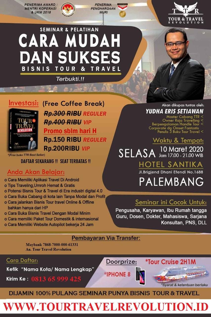 Seminar Tour Travel Revolution Palembang