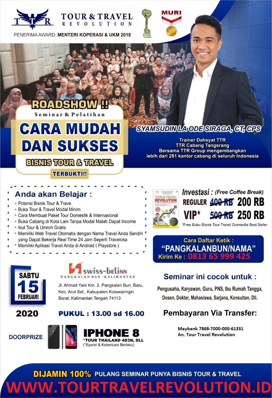Seminar Tour Travel Revolution Pangkalanbun