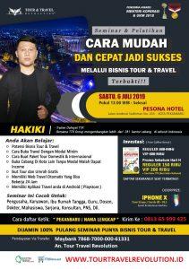 Seminar Tour Travel Revolution Pekanbaru