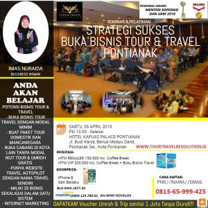 Seminar Tour Travel Revolution Pontianak