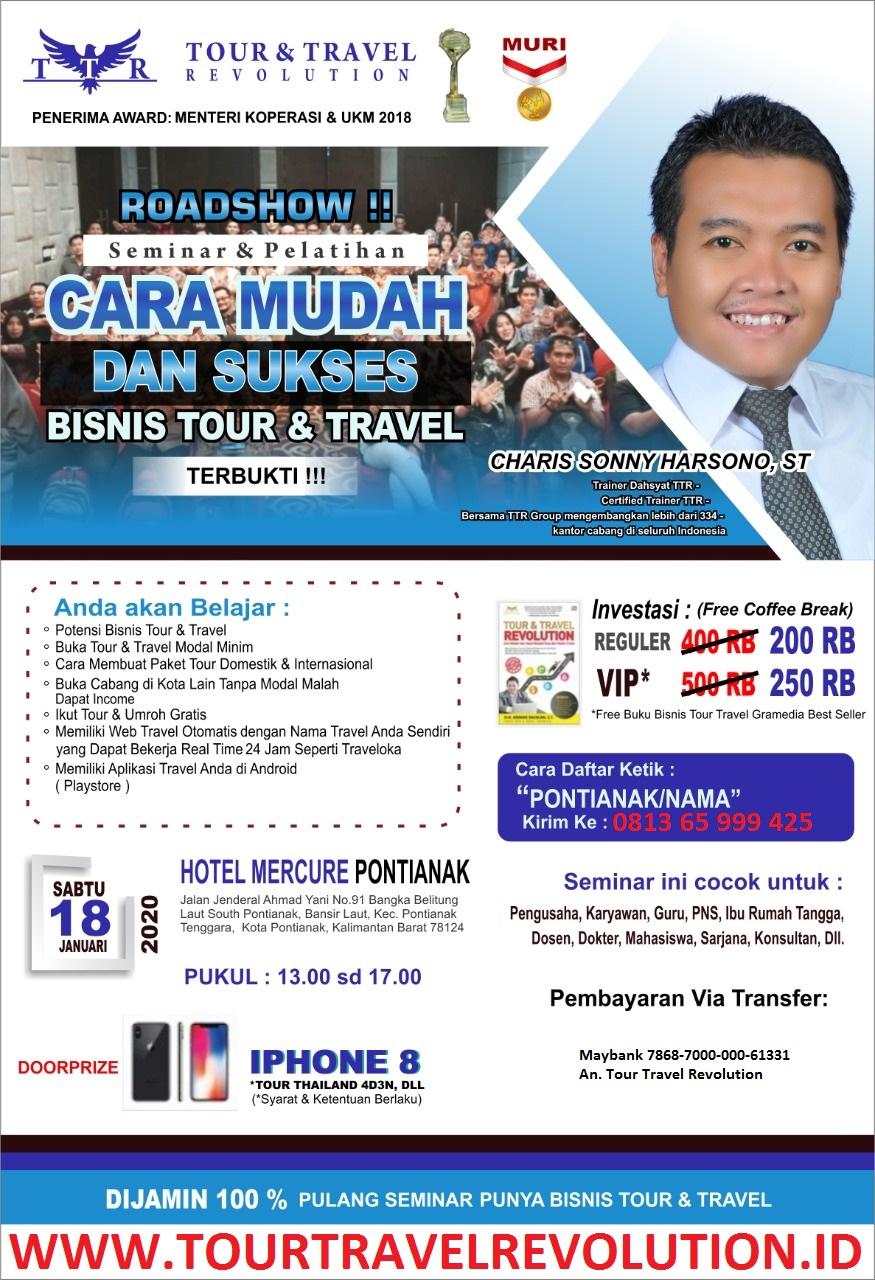 Seminar Tour Travel Revolution Pontianak