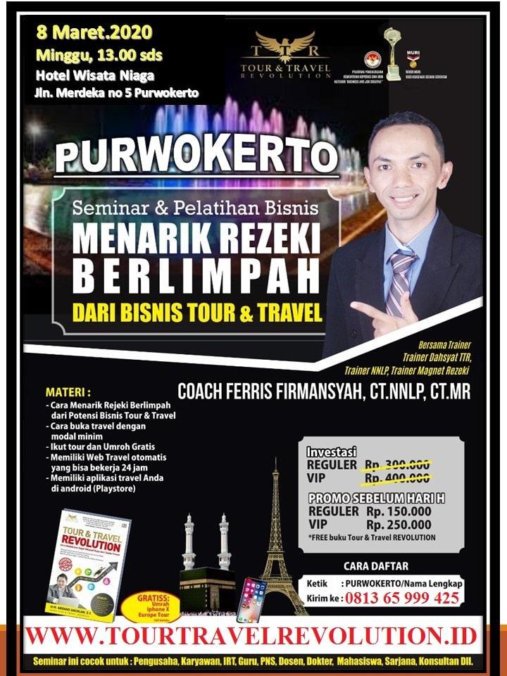 Seminar Tour Travel Revolution Purwokerto