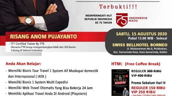 Seminar Tour Travel Revolution Samarinda