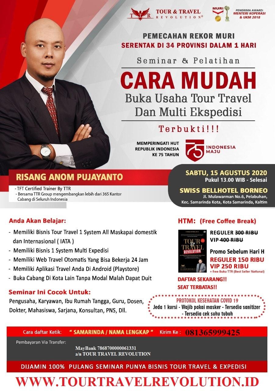 Seminar Tour Travel Revolution Samarinda
