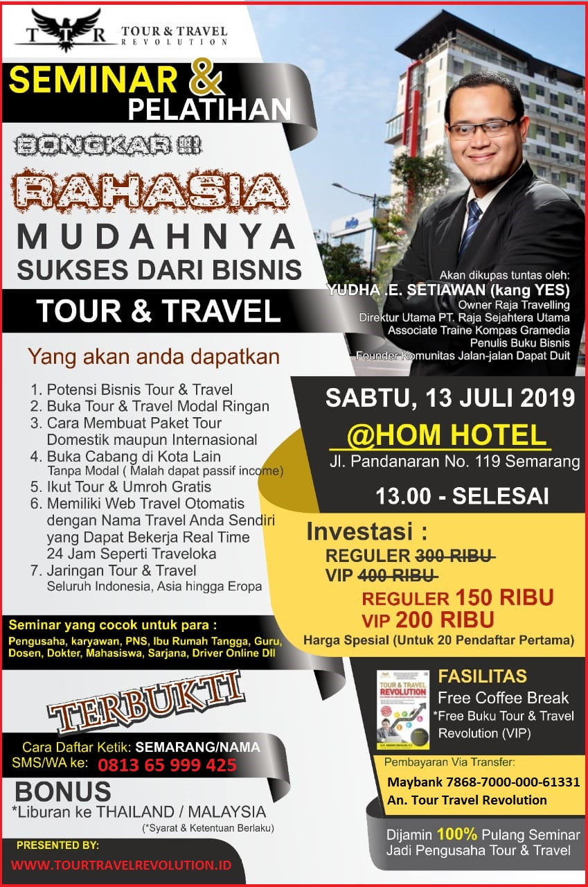 Seminar Tour Travel Revolution Semarang