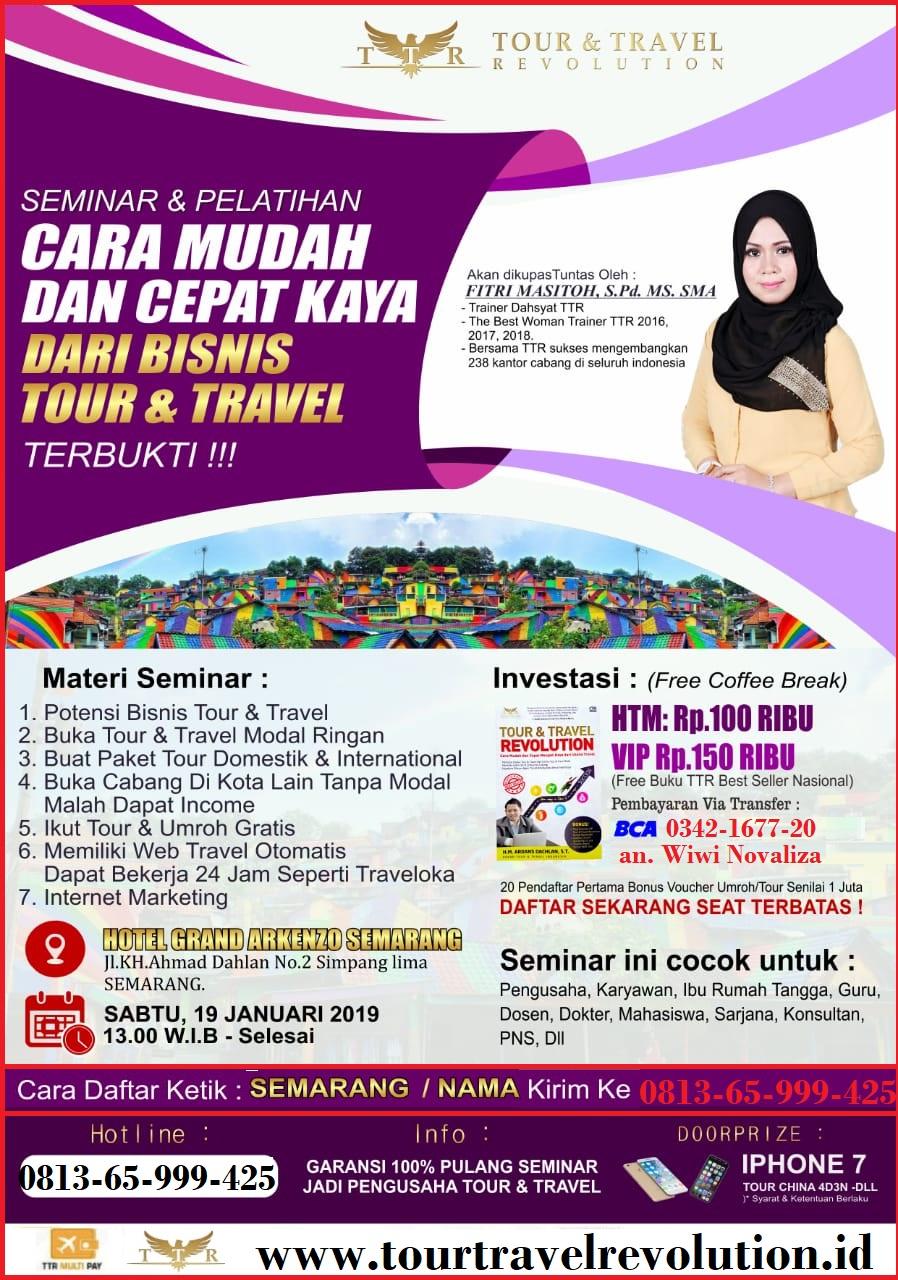 Seminar Tour Travel Revolution Semarang