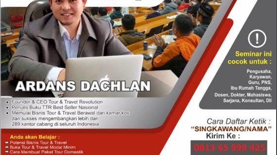 Seminar Tour Travel Revolution Singkawang