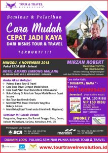 Seminar Tour Travel Revolution Surabaya