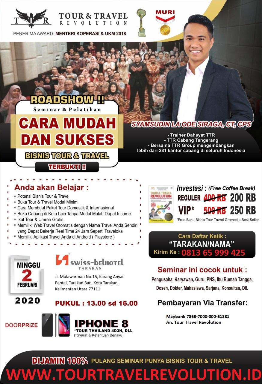 Seminar Tour Travel Revolution Tarakan