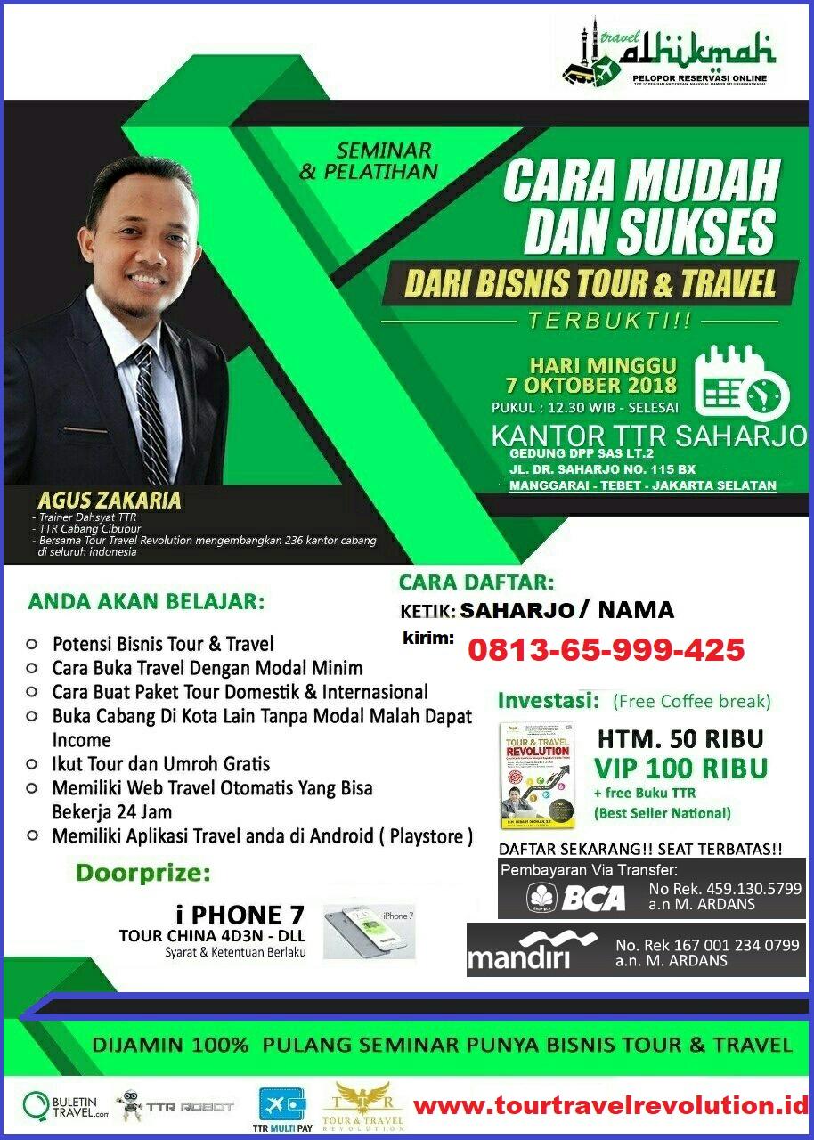 Seminar Tour Travel Revolution Tebet Jakarta Selatan