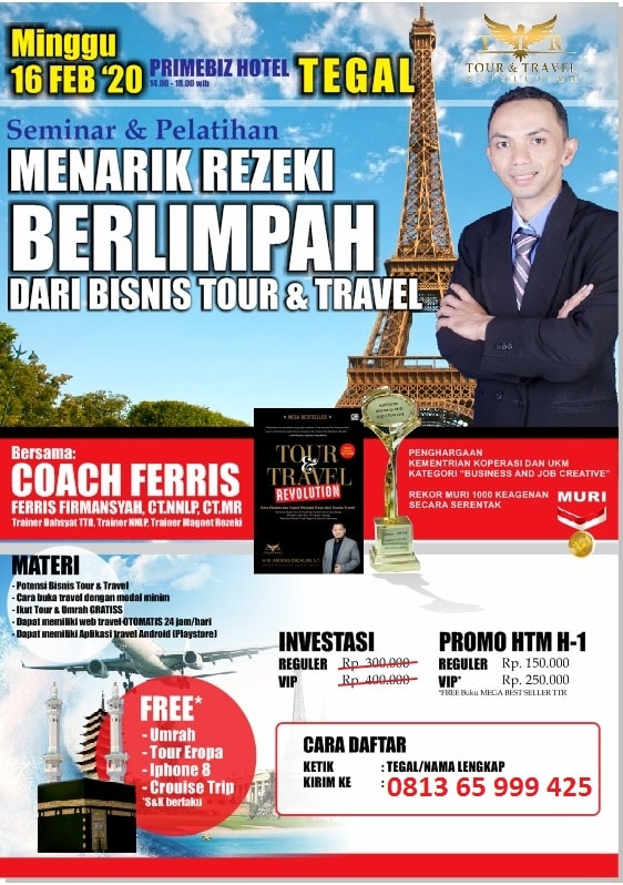 Seminar Tour Travel Revolution Tegal