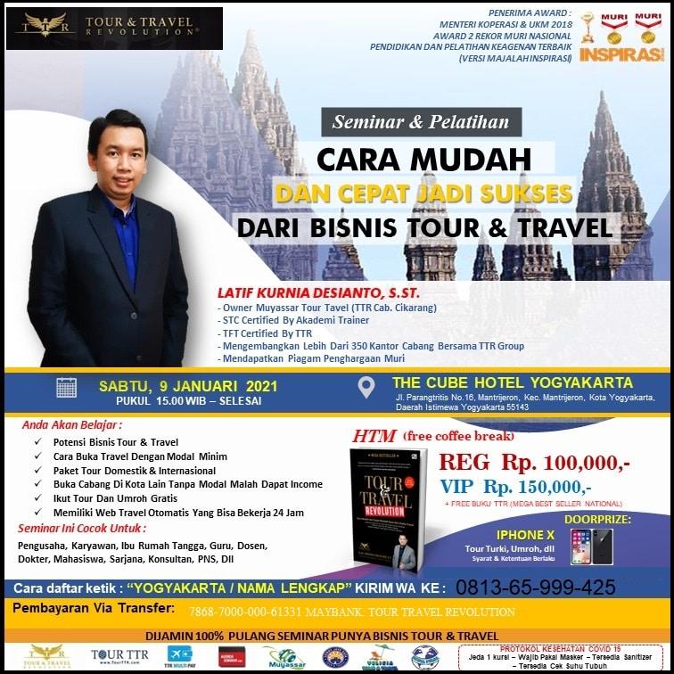 seminar tour travel revolution yogyakarta