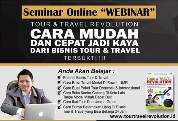 Webinar Tour And Travel Revolution
